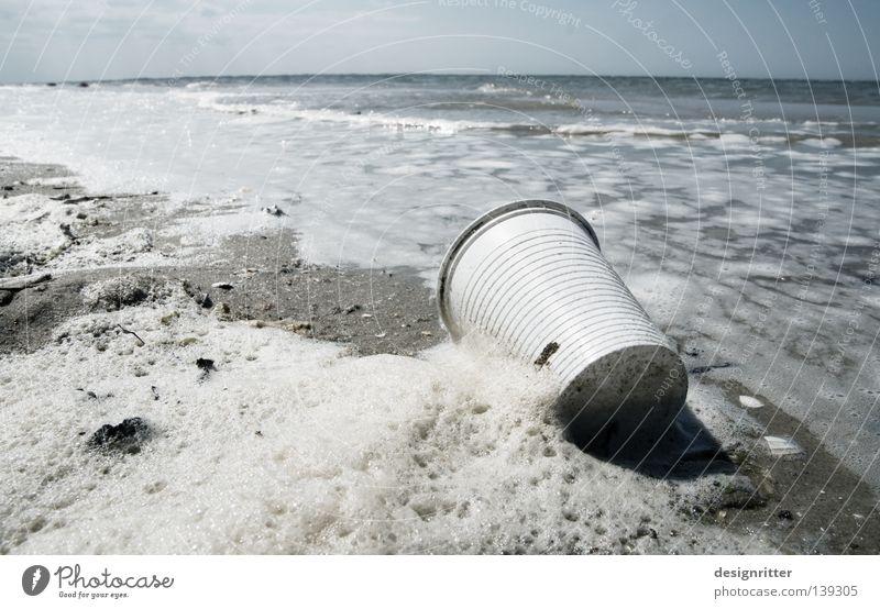 Water Ocean Beach Vacation & Travel Lake Coast Dirty Environment Island Trash Plastic Society North Sea Tourist Surf Foam