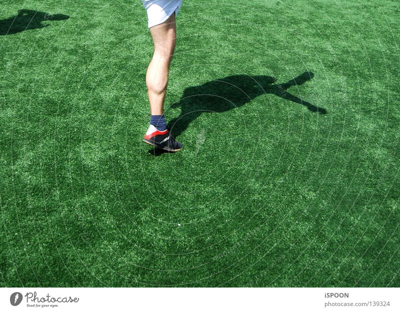 Sports Movement Legs Feet Skin Lawn Pants Musculature Knee Footwear Calf Ball sports Kick Football boots Gym shorts
