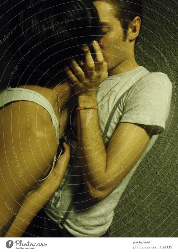 Man Love Emotions Sweet Romance Kissing Tunnel Hide Bans Hold Embrace Homosexual Cuddling Affection Underpass