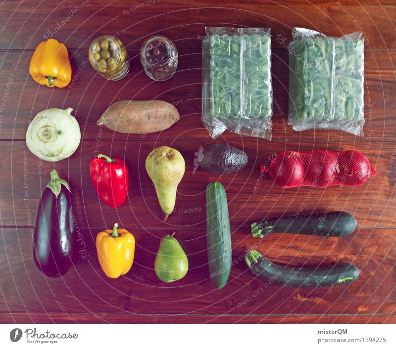 Healthy Eating Art Fruit Esthetic Table Cooking & Baking Kitchen Vegetable Delicious Organic produce Accumulation Lettuce Ingredients Mix Pepper Potatoes