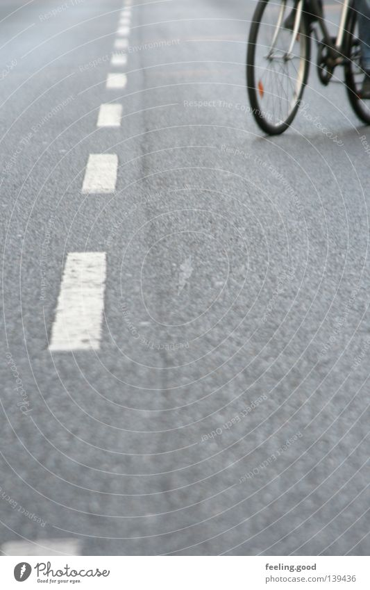 Man White Street Gray Bicycle Long Traffic infrastructure Slowly Coincidence