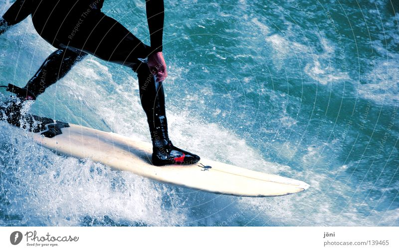 surfing fun Exterior shot Style Joy Beautiful Healthy Contentment Leisure and hobbies Vacation & Travel Freedom Summer Sun Beach Ocean Island Waves Sports