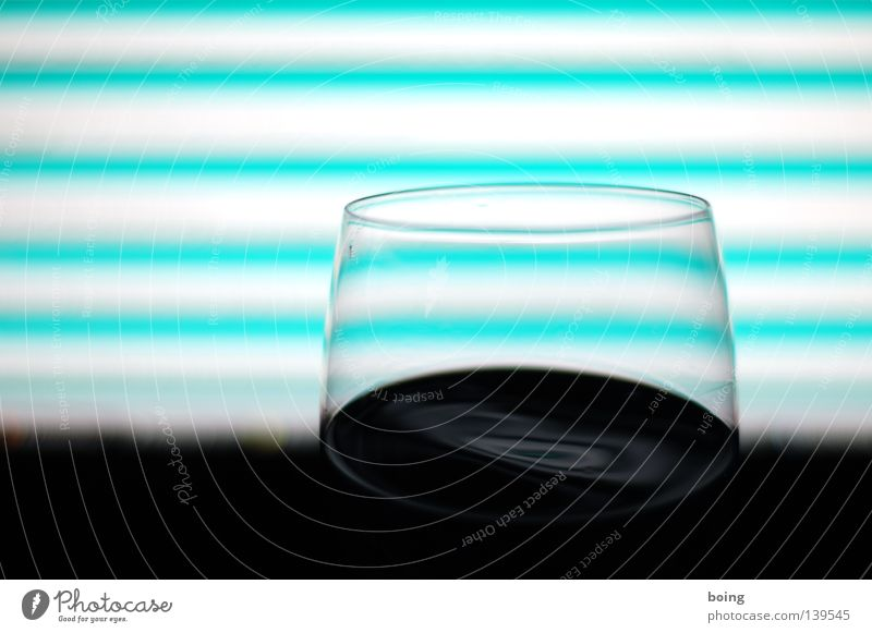 Window with time curvature Red wine Wine glass Stripe Bar Counter Wall of light Neon light Dark Slosh Night Alcoholic drinks Communicate Entertainment