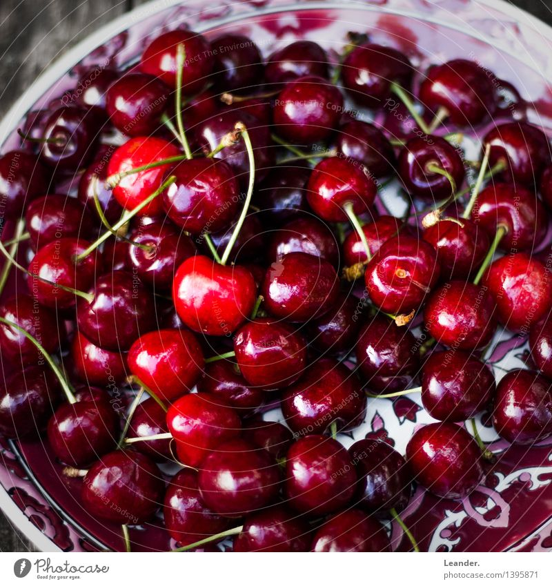 cherries Nutrition Eating Organic produce Lifestyle To enjoy Esthetic Fresh Healthy Red Inspiration Cherry Delicious Sweet Food Spring Summer Fruit Dessert