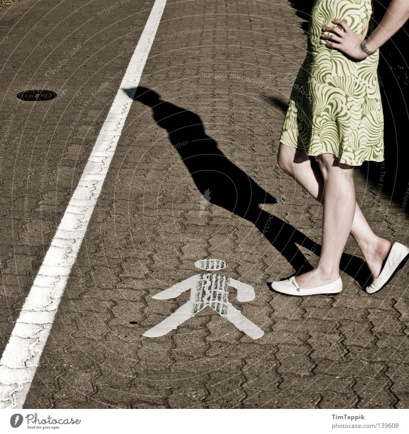 Woman Hand Summer Feminine Equality Legs Line Footwear Arm Wait Signs and labeling Stand Ball Symbols and metaphors Dress