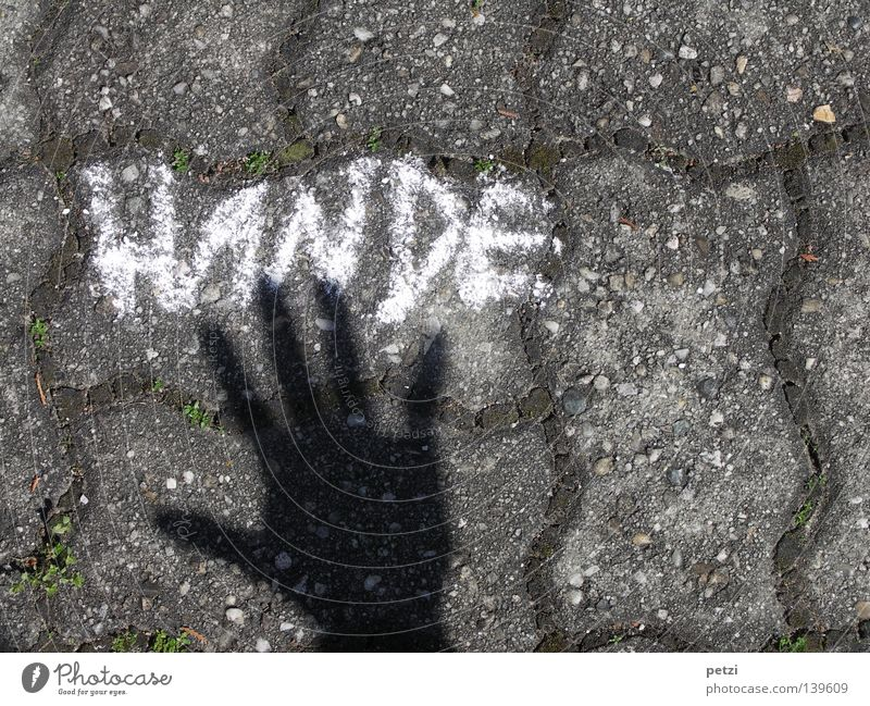 Hands (the black hand) Fingers Street Lanes & trails Characters Graffiti Authentic Project 5 Thumb Mural painting Cobblestones stone pavement painted on Chalk