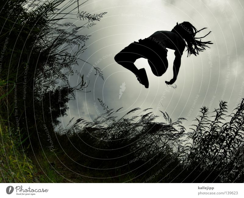 Human being Joy Playing Grass Movement Jump Feet Field Lifestyle To fall Hind quarters Catch Common Reed Hollow Dynamics Hop