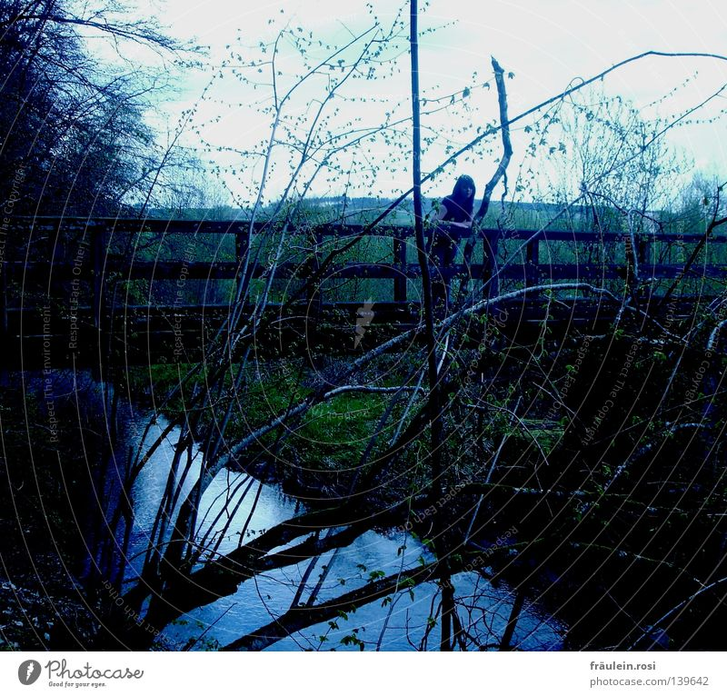 Water Wait Bridge Boredom Stay Lean Impatience