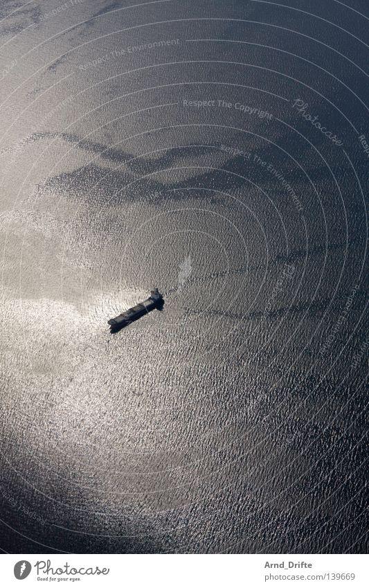 Water Ocean Winter Calm Loneliness Lake Watercraft Waves Small Mirror Navigation Norway Oil tanker