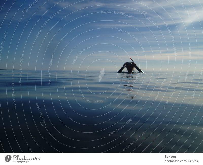 Water Ocean Blue Waves Leisure and hobbies Dive Baltic Sea Rügen Snorkeling Hiddensee