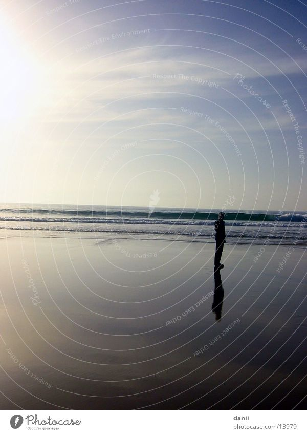 The Walter Beach Ocean Lisbon Afternoon Water Human being Sky Sun