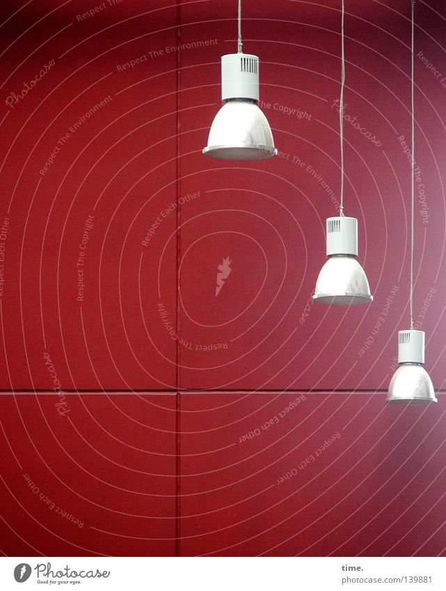 White Red Wall (building) Lighting Lamp Back Illuminate Electricity Technology Cable Tile Hang Parallel Seam Electrical equipment Useful