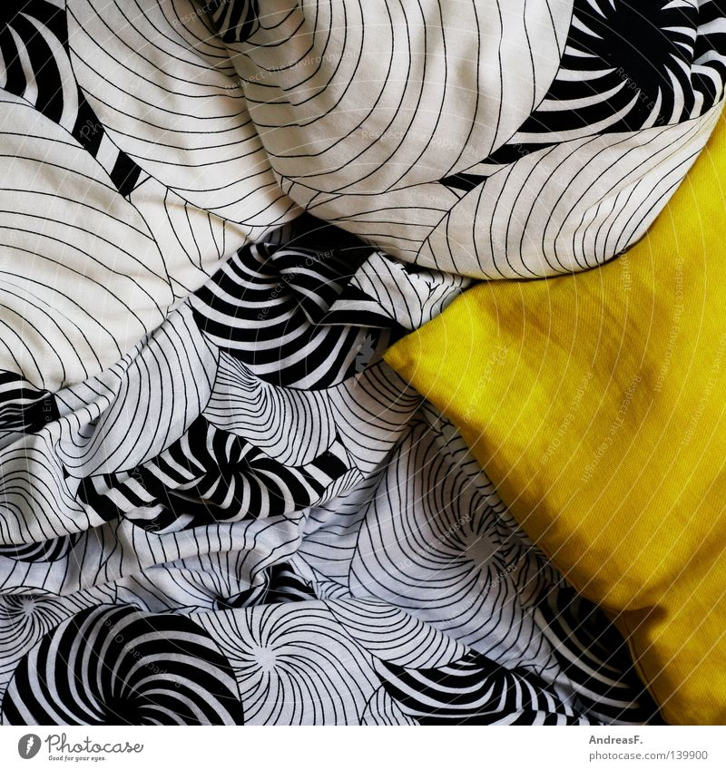 favourite pillow Bed Bedclothes Laundry Cloth Pattern Cushion Cold Cozy Yellow Zebra Cuddly Monochrome Night Relaxation Duvet Household Decoration Warmth