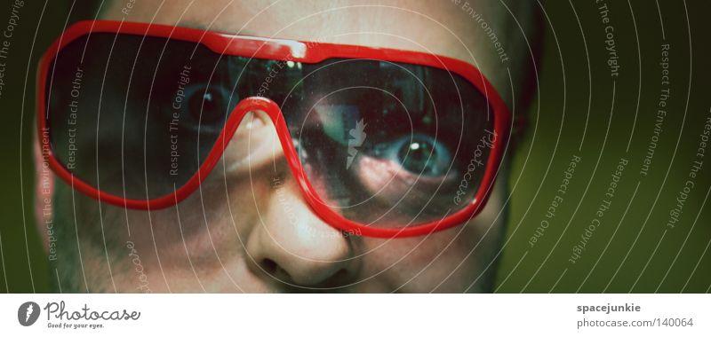 Man Joy Eyes Crazy Eyeglasses Broken Intoxicant Sunglasses Freak Soul