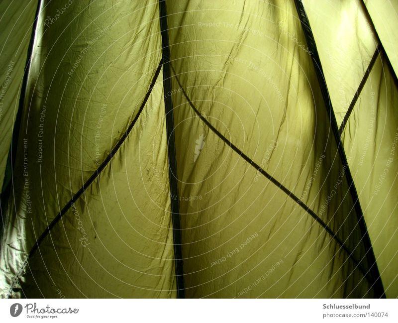 Green Black Dark Bright Stripe Wrinkles Parachute Cloth Folded cloth