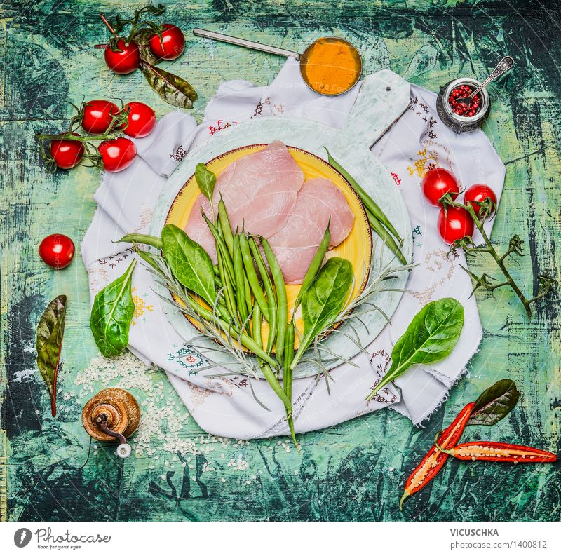 Green Healthy Eating Life Style Food Pink Design Nutrition Table Cooking & Baking Herbs and spices Kitchen Vegetable Organic produce Plate Bowl