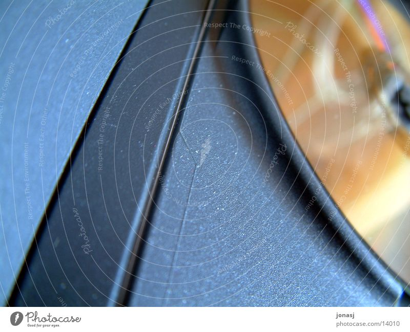TheDisk DVD-ROM Reflection Yellow Black Leisure and hobbies CD disk Sheath Film industry Structures and shapes