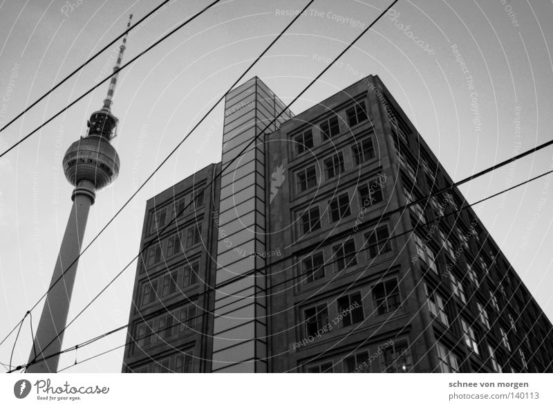City House (Residential Structure) Berlin Window Monument Landmark Berlin TV Tower Alexanderplatz