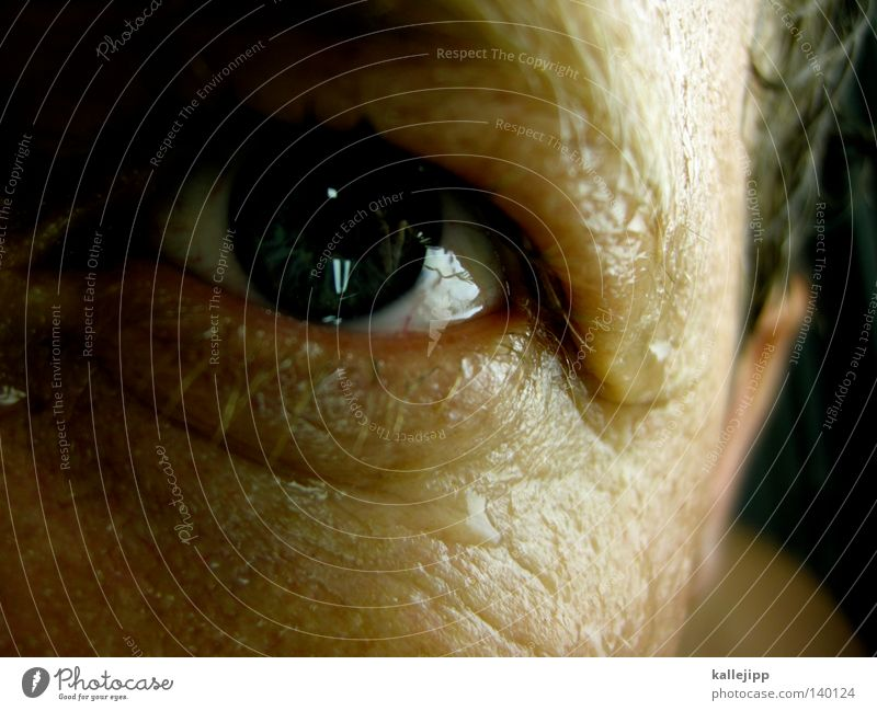Human being Man Water Face Emotions Hair and hairstyles Sadness Skin Drops of water Grief Ear Wrinkle Wrinkles Discover