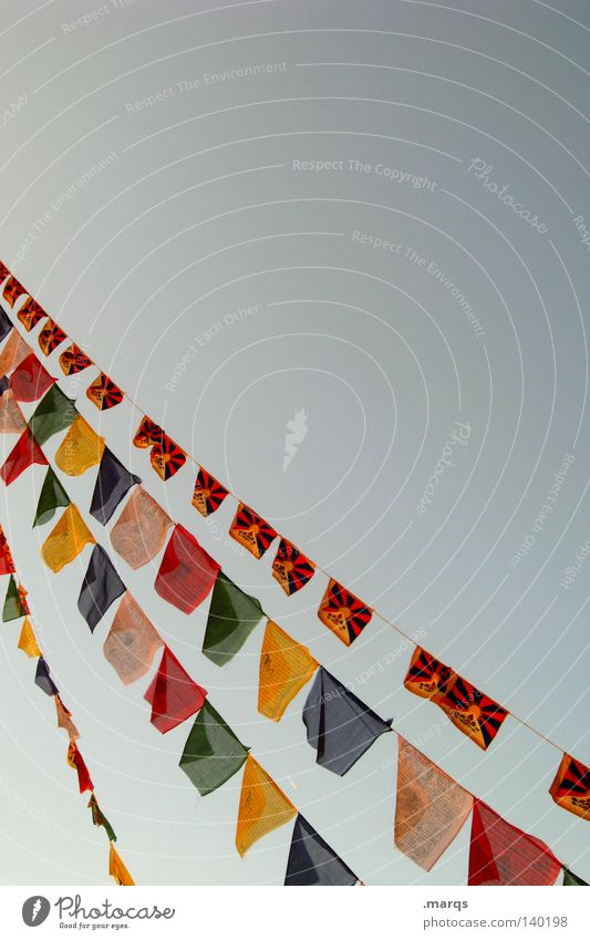 Free Tibet Red Blue Yellow Multicoloured Wind Freedom Flag Judder Hang Prayer Politics and state Prayer flags Summer Peace Decoration Green Politics & State Sky