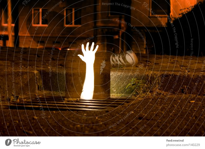 Human being Hand Dark Power Arm Hope Dangerous Long exposure Anger Chucks Fight Effort Aggravation Grasp Gully Cry for help