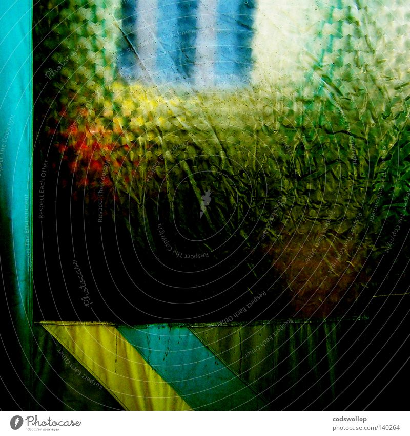 vorzeltdusche Yellow Window Rain Trip Bathroom Plastic Camping Festival Curtain Fold