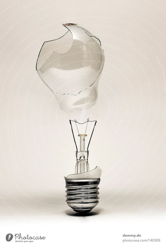 White Lamp Dark Jump Gray Lighting Dirty Glass Flying Energy Electricity Technology Round Broken