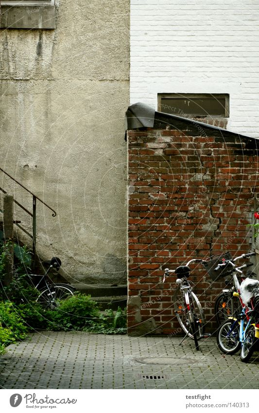 Old City Bicycle Architecture Stairs Living or residing Traffic infrastructure Backyard
