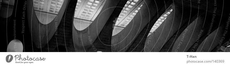 Perfect Elipse Dark Life Architecture Design Switzerland Railroad tracks Train station Zurich