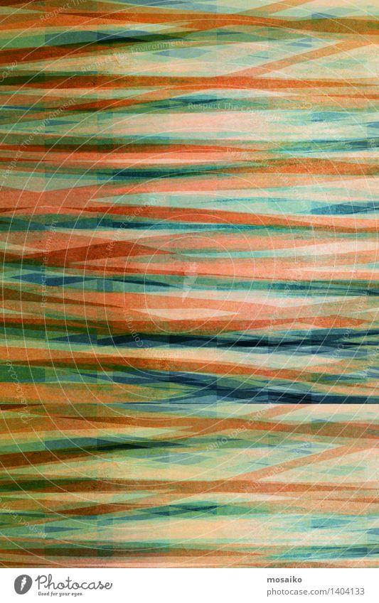 abstract striped background - textured graphic design Design Decoration Art Paper Stripe Simple Elegant Retro Trashy Blue Green Colour Fashion Striped Rough
