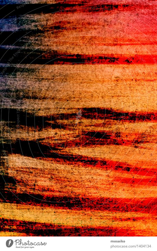 abstract striped background - textured graphic design Design Decoration Art Paper Stripe Old Dirty Dark Retro Red Black Colour Striped Rough Torn Ragged