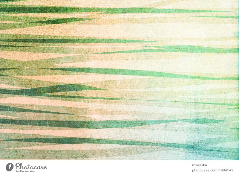abstract striped background - textured graphic design Design Decoration Art Paper Stripe Old Dirty Retro Blue Green Colour Striped Rough Torn Ragged