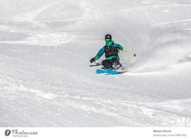Joy Winter Mountain Snow Ice Beautiful weather Adventure Frost Hill Driving Alps Snowcapped peak Skiing Athletic Skis Glacier