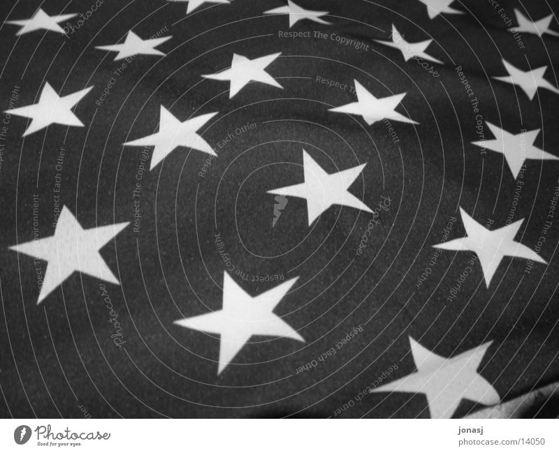 USA Flag Stripe Americas Historic Fame Black & white photo