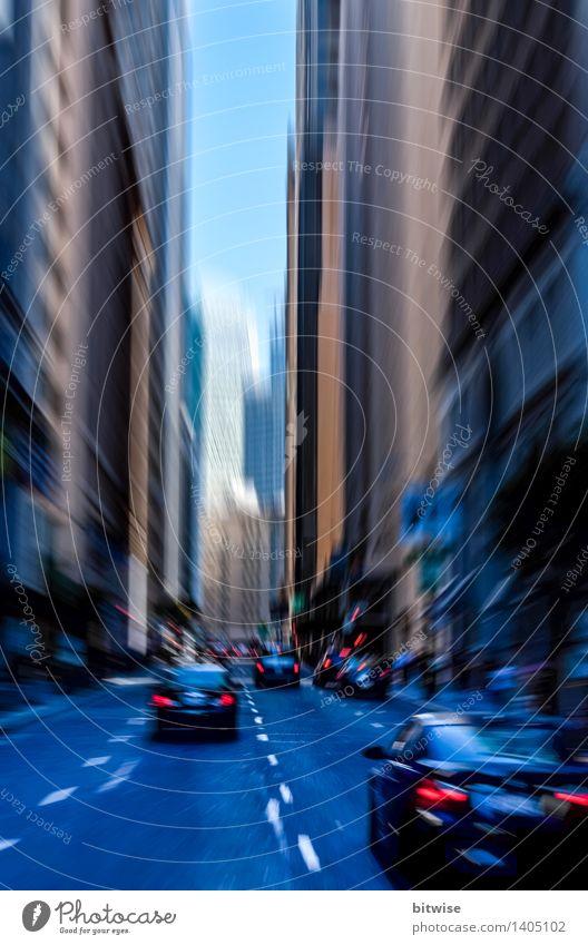 City Blue Street Movement Gray Tourism Car High-rise Speed Target Driving USA Running Downtown City trip San Francisco