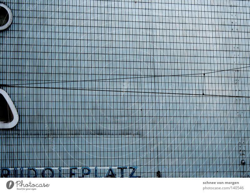 extensive Cologne Tram Places Window Preservation of historic sites Derelict rudolf course Tile Blue Theatre