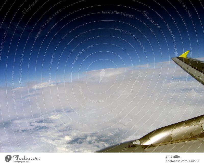 Clouds Ocean Flying Planing Planer Europe flight flugzeug Blue sky himmel canal
