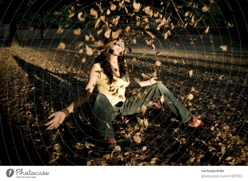 Woman Autumn Healthy Free