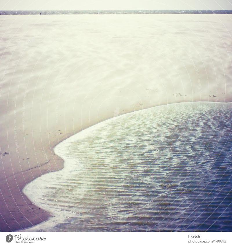 Water Ocean Summer Beach Sand Waves Wind North Sea Mud flats