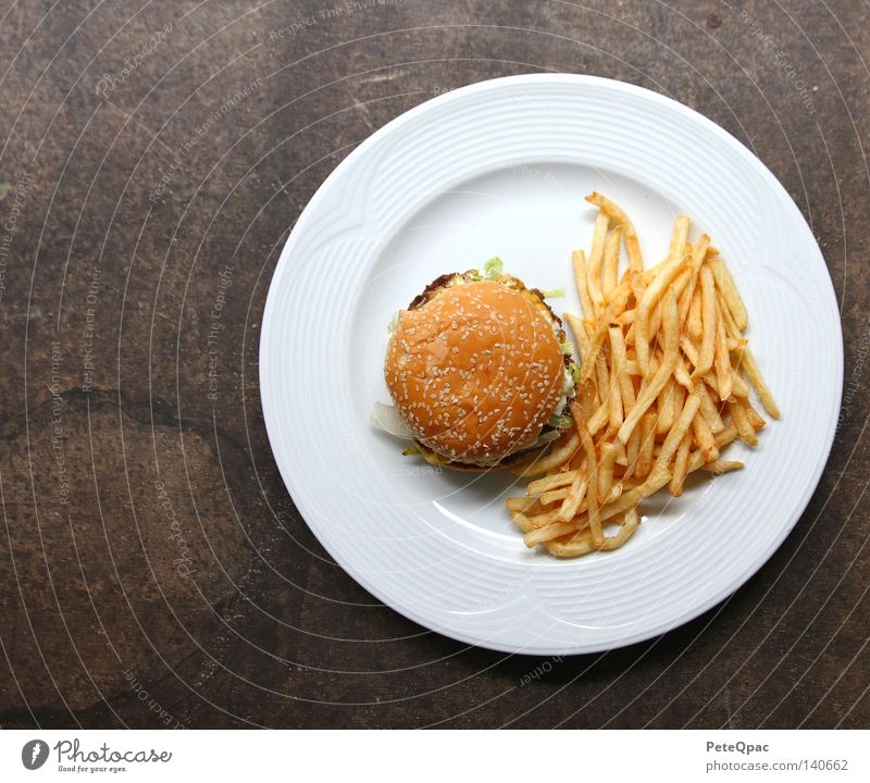 Nutrition Food USA Gastronomy Americas Fast food Hamburger French fries Cheeseburger