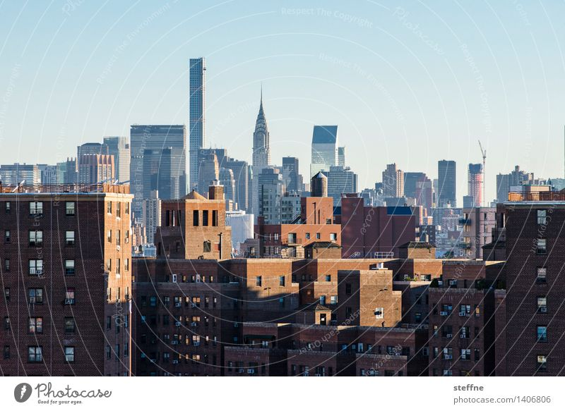 City Freedom City life High-rise Esthetic USA Skyline Landmark Brick Americas Manhattan New York City Chrysler Building