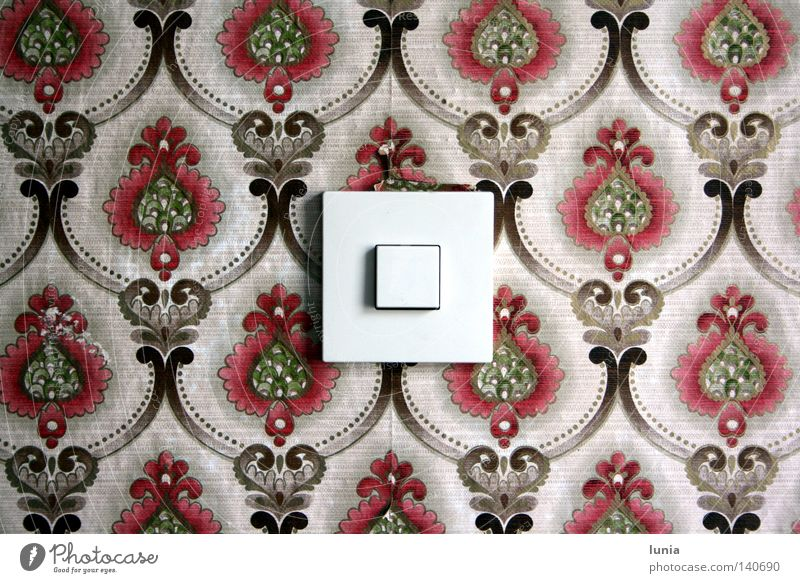 Grandma, turn on the lights! Light switch Switch Wallpaper House (Residential Structure) Wall (building) Electrical equipment Flat (apartment) Household