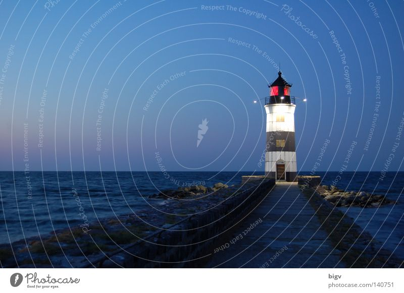signpost Tower Ocean Lighthouse Sunrise Night mucous Sailing Watercraft