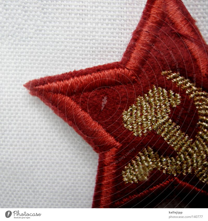 Red Gold Signs and labeling Star (Symbol) Cloth Symbols and metaphors Sign Historic Past Landmark Russia Parties Section of image Partially visible Hammer Front side