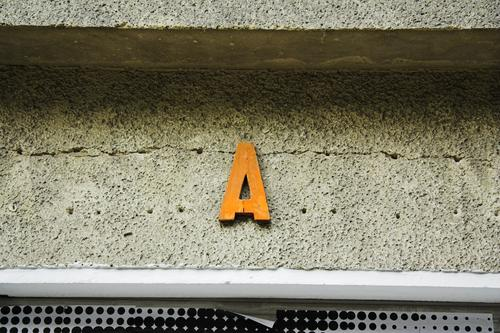 A Letters (alphabet) Initial letter Advertising Typography Montage Facade Store premises Large Capital letter Communicate Characters Media Beginning