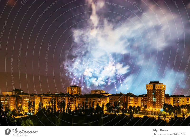 Fireworks Party Feasts & Celebrations Sky Glittering Long New Red Black White Colour background Beauty Photography Burst Guest Explosion Exposure fire firework