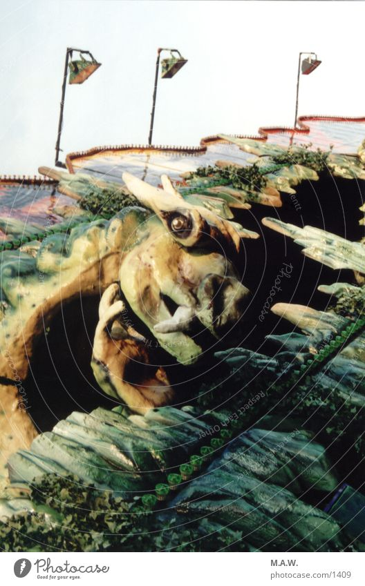 ghost train Monster Fairs & Carnivals Photographic technology Kitsch