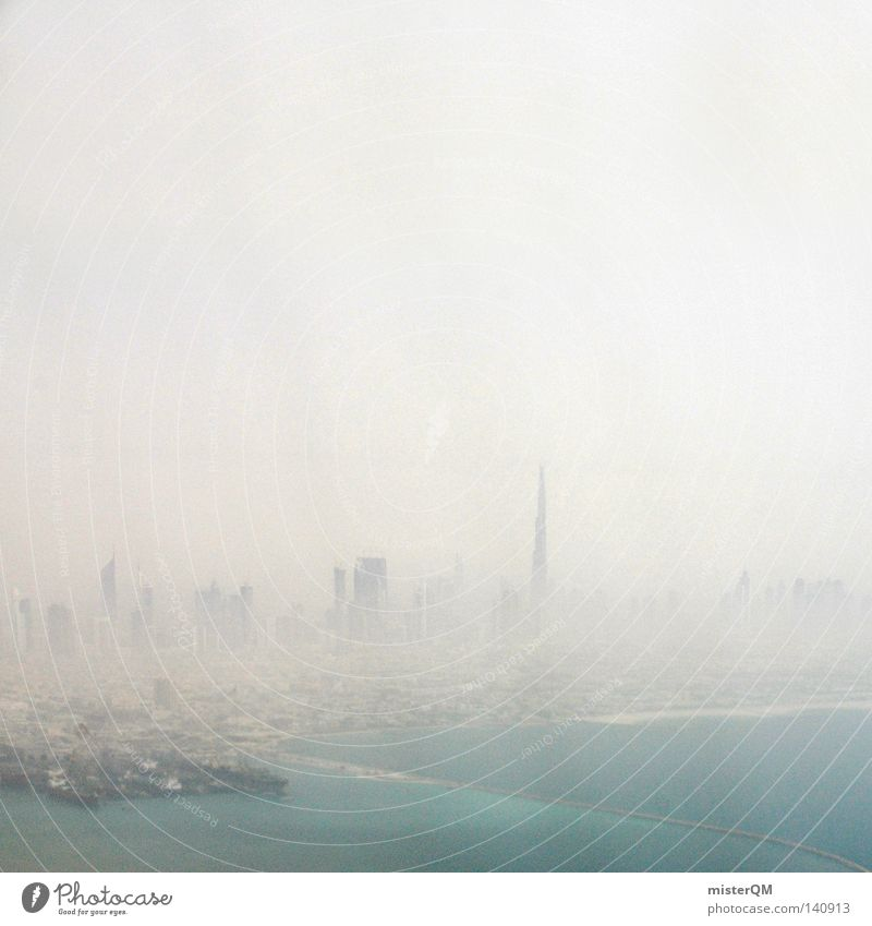 City in the Nix. Smog Town Putrefy Future High-rise Environment Environmental pollution Dust Physics Dirty Dubai Together Connect Alliance Arabia