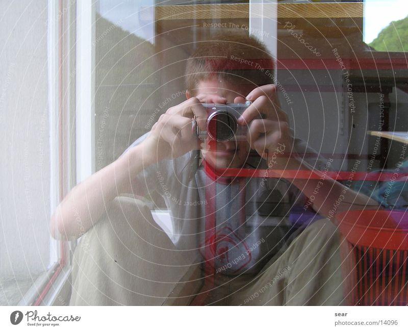 mirror image Mirror Summer Man aaron mediterranean Glass self-portrait