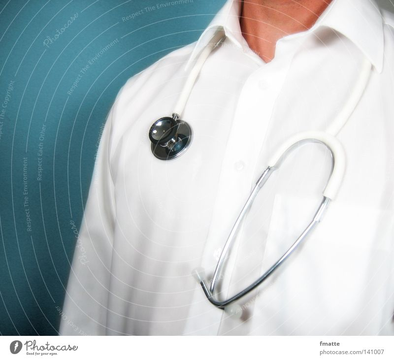physician Doctor Health care Stethoscope Healthy Medical practice Listening Man Human being Science & Research Trust Diagnosis